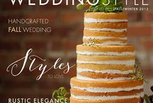Styled Shoots / Styled shoots for different publications and vendors that we have participated in. All cakes by The Cake Lady