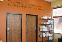 Snider vet lobby ideas / by Dawn Duquet