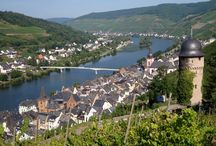 Germany, Zell an der Mosel / A romantic city perfect for your summer holidays. Great for small groups, families and couples. The Region where it is located is called Rheinland-Pfalz