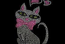 Animal Rhinestone Design Transfers / Animal Rhinestone Design Transfers
