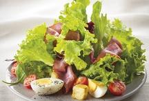 Salades / Des ingrédients frais et savoureux, pour des salades divines...