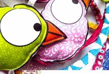 les créations de la libellule / Voici les créations déco enfants,textile, et autres que vous pouvez trouver à l'atelier de la libellule.