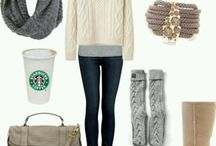 Autumn winter outfits