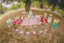 Festa Piquenique / Festa infantil piquenique com o tema aviões!