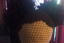 Dolls I crocheted!!