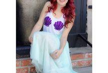 Mermaid look