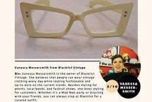 Vintage Style: Vanessa Messersmith / Vanessa Messersmith from Blacklist Vintage
