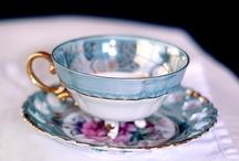 Tea pots, tea cups and stuff