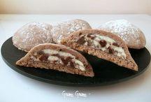 Biscotti ricotta / Ripieni con cioccolato