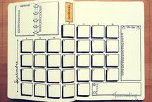 page type bullet journal