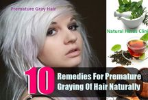 Premature Gray Hair Natural Treatment