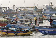 Peru boats