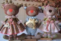 Sweet fabric toys