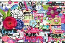 Reasons to Smile / Digital scrapbook layouts and projects with Reasons to Smile digital scrapbooking kit by Misty Cato available at Sweet Shoppe Designs / by Misty Cato