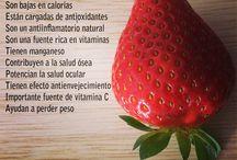 Colacion / Opciones de colacion de frutas y verduras