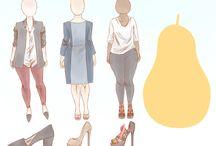 Oblečení hruška