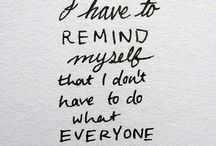 Quotes / by Rachel Chumney