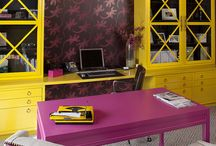 lounge rooms bright colours