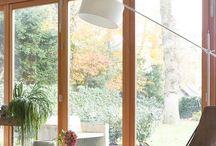 baie vitrée banc