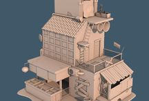 inspiration for weekly 3d modelling