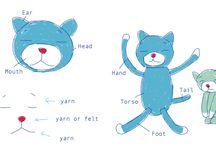 Cat ameniko / Crochet patern