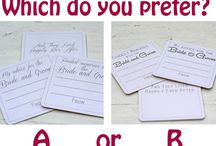   which do you prefer?   / Which wedding decorations do you prefer. We ask questions about wedding decorations available from www.theweddingofmydreams.co.uk