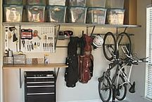 Garage / Storage for containers  / by Summer Howard