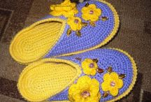 Crochet shoes and slipers 2018