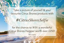#CitrusShoresSelfie / COMPETITION TIME!  We're giving you the chance to win a wonderful selection of Citrus Shores products, presented in an Arran Aromatics hamper, worth over £250!!   All you have to do is show us your best selfie! Take a picture of yourself with your favourite Citrus Shores products and use the hashtag: #CitrusShoresSelfie  Full terms here: http://www.arranaromatics.com/terms
