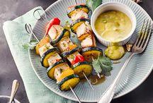 vegane und vegetarische Gerichte