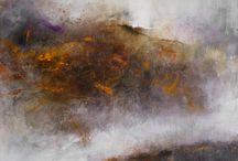 mes toiles abstraites / peinture abstraite
