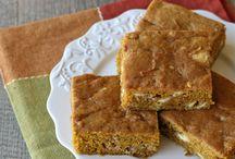 Recipes: Desserts (Bars)