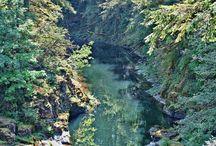 Moulton Falls, Washington / Photography from Moulton Falls in Washington state