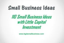 Small Business Ideas / Over 100 Small Business Ideas You Can Start With Little Capital