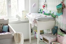 NURSERY / Inspiration for bay and childrens rooms