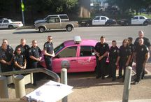 October- Breast Cancer Awareness Month / Vehicles wrapped in Avery Dennison products in honor of Breast Cancer Awareness Month
