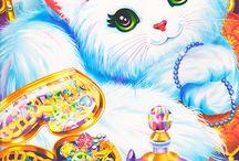 Кошки рисунки и не только))