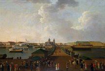 Saint-Petersbourg au XIXe siècle / Mon nouveau roman commence a Saint-Petersbourg en 1858. C'est dans le Palais d'Hiver que le Tsar reçoit ses invités et notamment le corps diplomatique.