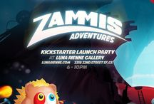 Zammis Adventure / Mobile gaming meets Burning Man ethos in new art- and sound-driven app