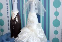 Vlastnoručné svadobné dekorácie