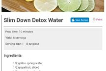 Infusion Water Recipes / by Lisa D Scott