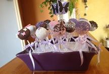 Pop cakes thème violet