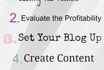 Blogging Tips / by Pop Drop Diffuse