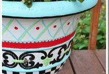 Painted Pots / by Susan McMillin