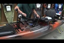Native Watercraft and Hurricane Kayaks / Innovative Fishing Kayaks including Propel Pedal Drive System Kayaks and Paddle Kayaks...built for all types of fishing!