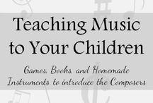 homeschool music / by Kelley Hill-Cate
