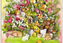 Lovely spring / http://shop.scrapbookgraphics.com/Lovely-spring.html