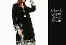 Otantik Elbise Modelleri