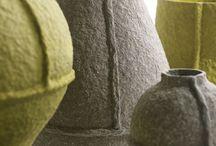 vase af papier mache
