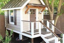 casa madera niños
